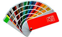 Порошковая покраска дисков с использованием палитры Ral