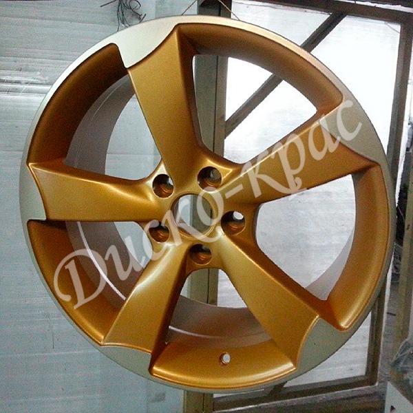 Покраска автомобильных дисков: литые