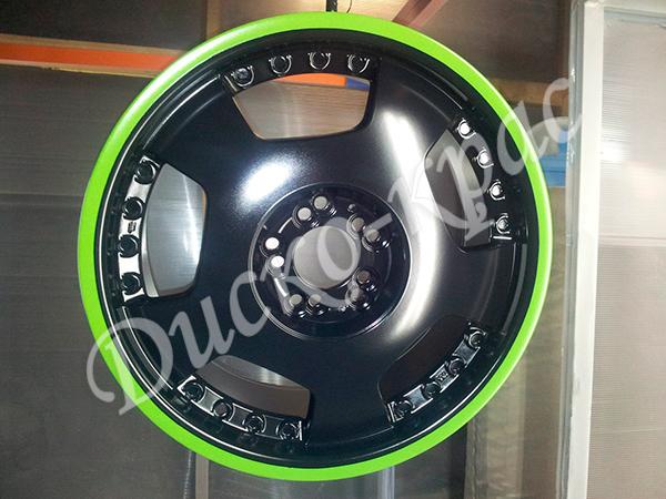 Покраска автомобильных дисков: кованые